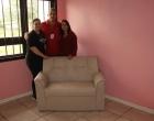 Sofá é restaurado pelas Oficinas Jogue Limpo em Osório