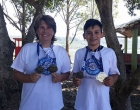 Peixinho Azul participa do Triathlon de Osório