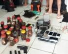 Trio é preso com armamento restrito, munições e miguelitos em Tramandaí