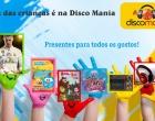 Dia das crianças é na Disco Mania: ofertas imperdíveis em Osório