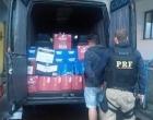 PRF apreende em Osório carga de bebidas irregular avaliada em mais de R$ 30 mil