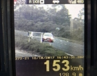 Veículo é flagrado a 153 km/h na Estrada do Mar em Osório