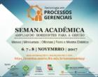 Vem aí a Semana Acadêmica do Curso de Tecnologia em Processos Gerenciais do IFRS Osório