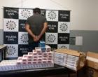 Suspeito de receptação e contrabando é preso em Osório