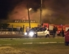 Incêndio atinge restaurante em Imbé