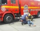 Ciclista fica ferida em colisão com veículo em Osório