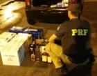 PRF intercepta importação irregular de bebidas em Osório