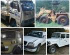 Estado leiloa 185 lotes de veículos e equipamentos  nos próximos dias