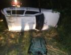 Jovem morre após capotar veículo na RS-030