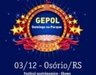Gastronomia, torneio de pênaltis e shows embalam o domingo em Osório