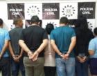 Sete pessoas da mesma família são presas por tráfico de drogas no Litoral Norte