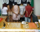 Polícia Civil prende cinco pessoas por tráfico de drogas em Cidreira