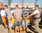 Trio é preso pelo CRBM com carro roubado em Osório