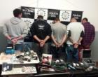Suspeitos de roubos e tráfico de drogas são presos em Osório e Mostardas