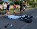 Colisão entre moto e caminhão deixa um morto em Terra de Areia