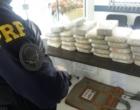 Motorista escapa de abordagem e abandona carro com 30kg de drogas em Osório