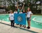 Natação de Osório participa da 35ª Travessia Internacional da Lagoa da Conceição
