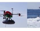 Guarda-vidas testam drone com boia inflável para salvamentos no litoral