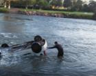 Queda de veículo em rio mata duas pessoas no litoral
