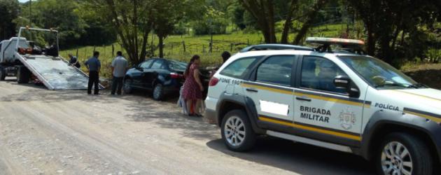 Idosa fica em estado grave ao ser atropelada em Santo Antônio da Patrulha