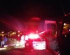 Casal é salvo pelos bombeiros após veículo cair em lago em Imbé