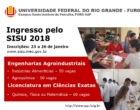 Universidade Federal do Rio Grande oferece 160 vagas para a graduação em Santo Antônio da Patrulha