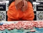Motorista de aplicativo de transporte de passageiros é preso em flagrante com drogas sintéticas em Capão da Canoa
