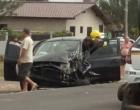 Colisão entre carro e caminhão deixa feridos na ERS-786