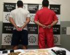 Polícia Civil prende duas pessoas e apreende armas em Osório