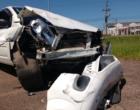 Colisão envolve dois veículos em trevo na ERS-030 em Osório