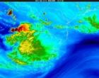 Inmet emite alerta de temporal neste domingo no Litoral