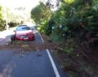 Motorista perde controle de veículo e sofre acidente no Morro da Borússia