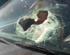 Peça se desprende de carreta e atinge passageira de veículo em Palmares do Sul