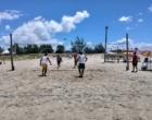 Vôlei de praia agita a praia de Santa Rita de Cássia