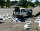 Agrotóxicos proibidos no Brasil são apreendidos em Osório