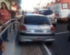 Acidente envolve moto e três veículos no centro de Osório