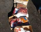 Mais de 100 kg de alimentos são apreendidos na RS-030