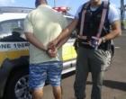 Homem é preso portando revólver na Estrada do Mar em Osório