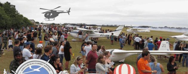 Xis do Jô leva você para voo de balão no Osório Airshow 2018