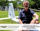 Osório: piloto morto em acidente testava aeronave nova em voo experimental