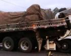 Caminhão com placas de Torres se envolve em grave acidente na BR-101