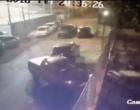 Câmera de segurança flagra criminoso arrombando carros em Osório