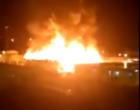 Incêndio de grandes proporções atinge a Penitenciária de Osório