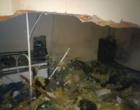 Criminosos explodem supermercado para acessar cofre e caixas eletrônicos em Santo Antônio