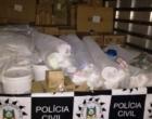 Polícia recupera carga de R$ 300 mil roubada por criminosos armados no Litoral Norte