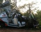 Motorista morre ao colidir contra árvores na Estrada do Mar