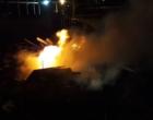 Incêndio atinge Central de Transbordo em Osório