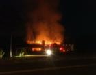 Incêndio atinge churrascaria em Osório (vídeo)