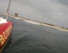 Balões saem da rota e pousam próximo ao mar em Torres