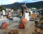 Vigilância Ambiental realiza ações no Cemitério Central em Osório
